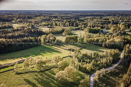 3 sverige swe västragötaland flygfoto blidsberg hållestorp
