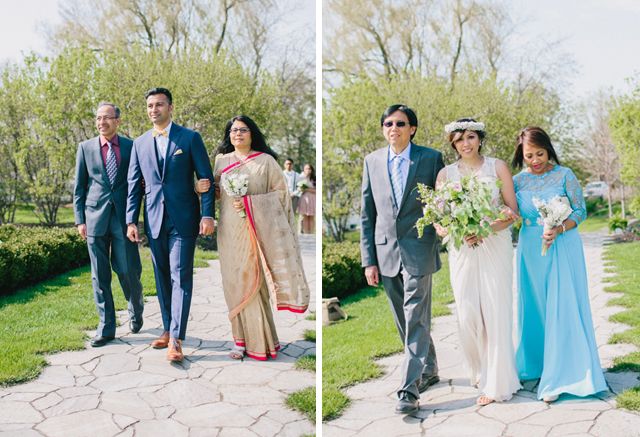 Garden Chic wedding in Ontario The bride wears #BHLDN wedding dress | Photography: Fern Shin Photography | Read more on Fab Mood - UK wedding Blog #gardenwedding