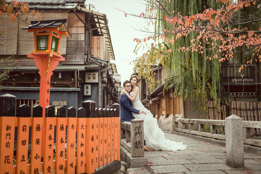 日本,京都,武少,綠攝影像,海外婚紗,自助婚紗,mike,Megan,楓葉,王子大飯店,嵐山,清水寺,