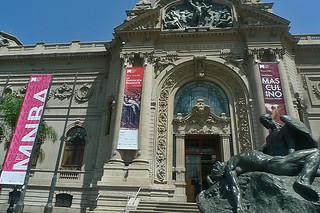 Santiago - Museo Nacional Bellas Artes