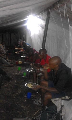 "Eating in the ""dormitory"""