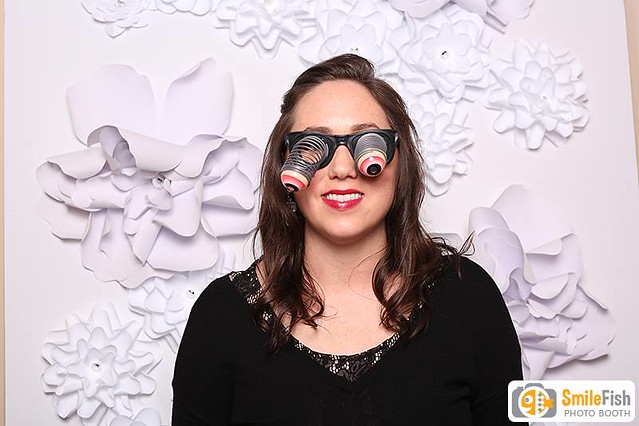 Flower backdrop Photo Booth Rental | Jacksonville, FL church wedding