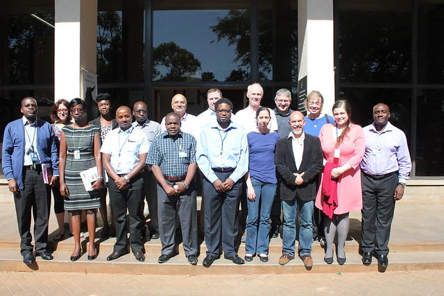 Group photo at NSF-PIRES project launch at the BecA-ILRI Hub, Nairobi