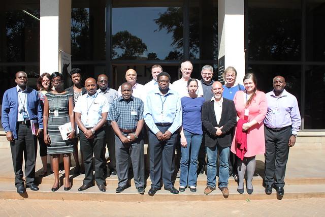 Group photo at NSF-PIRES project launch at the BecA-ILRI Hub, Nairobi