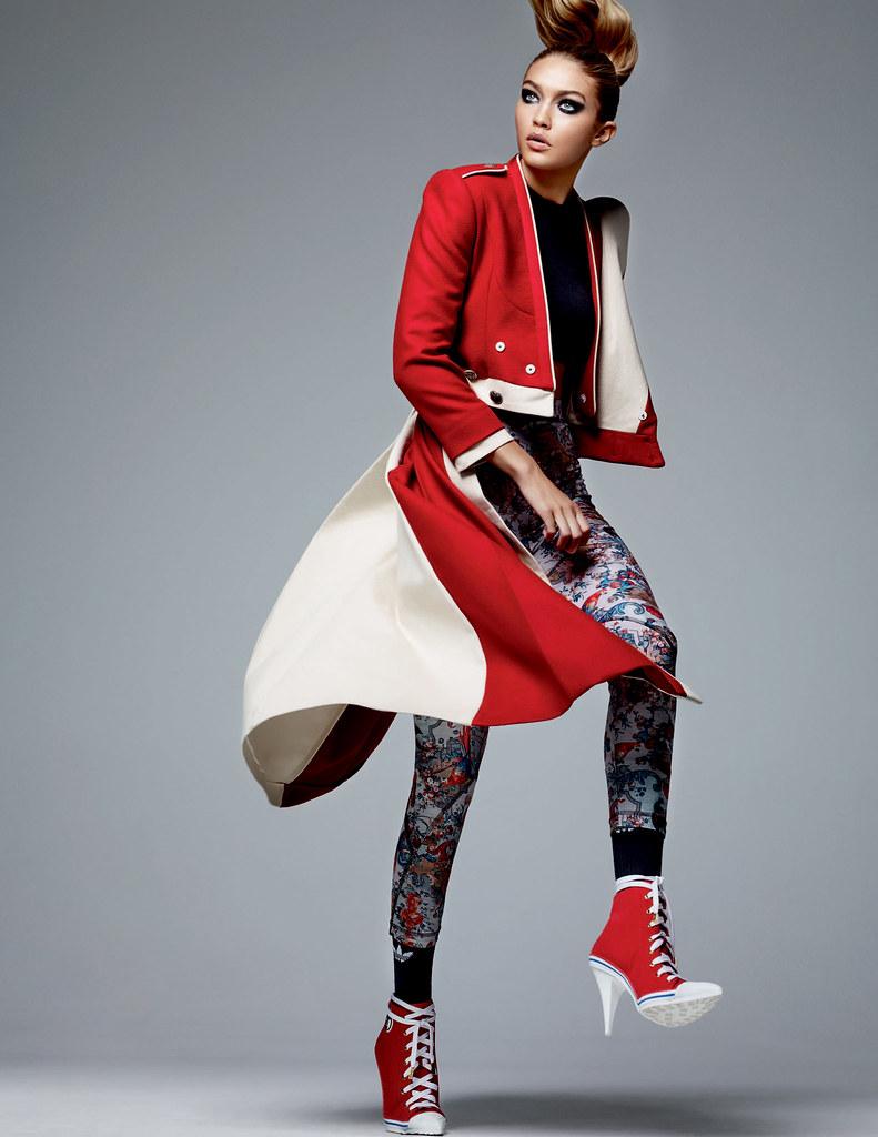 Джиджи Хадид — Фотосессия для «Vogue» CH 2016 – 5