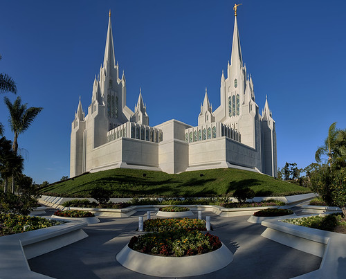 southwest church architecture temple sandiego bluesky socal mormon southerncalifornia