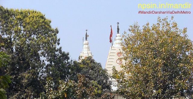 A walking distance from Tilak Nagar metro station, you can found Prabhu Shri Vishnu in श्री हरि मंदिर (Shri Hari Mandir), Janakpuri. The source of fresh air, large beautiful Dhingra park/garden also available infront of temple.