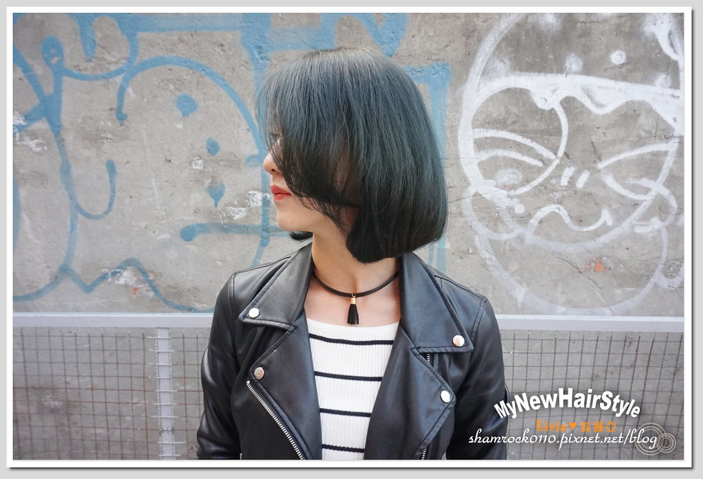 HappyHairTon短髮+墨綠色染髮 - 29