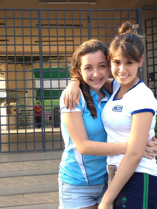 Camila Gil y Romina Amelunge