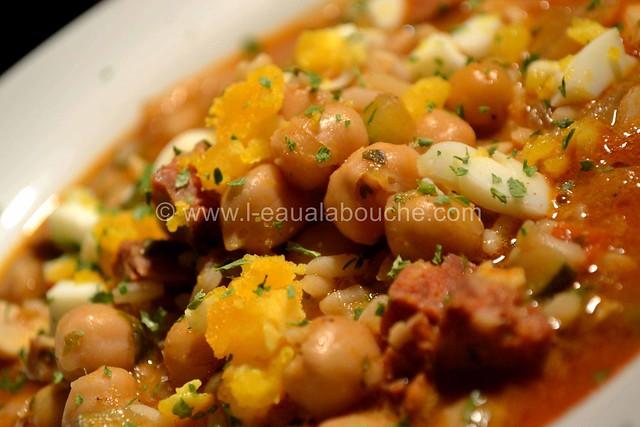 Potage de Pois Chiche au Chorizo Epicé © Ana Luthi Tous droits réservés 10