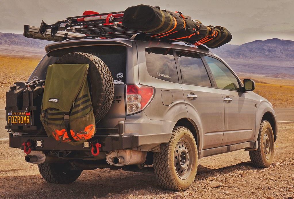 Subaru Forester Rear Front Bumper Build Pics American