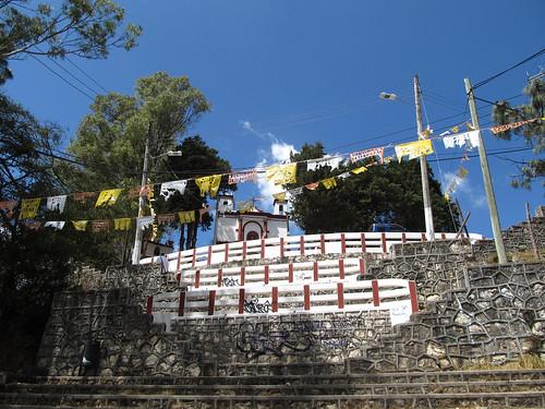 San Cristóbal de las Casas: el Templo del Cerrito (le temple de la colline)