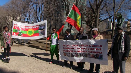 Oromo Community Protest - March 11, 2016