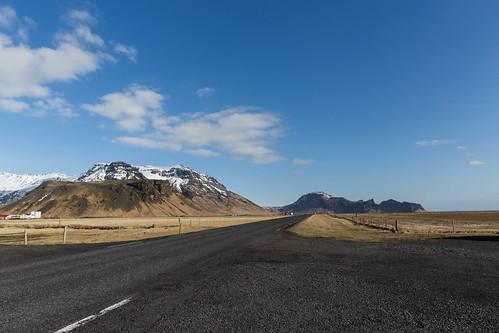 Route 1 opposite Eyjafjallajökull