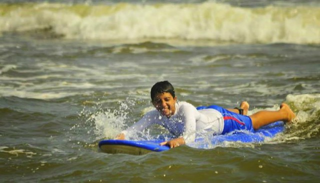 Surfing Lesson Chennai