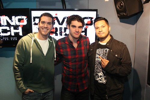 RJ Mitte on the Covino & Rich Show