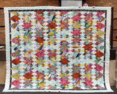 AMH Diamonds Quilt Top with Borders