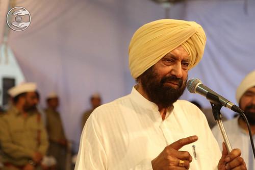 Dalbir Singh expresses his views