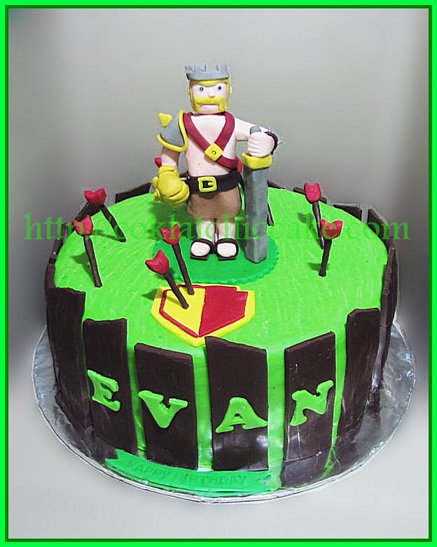 Cake Clash of Clans
