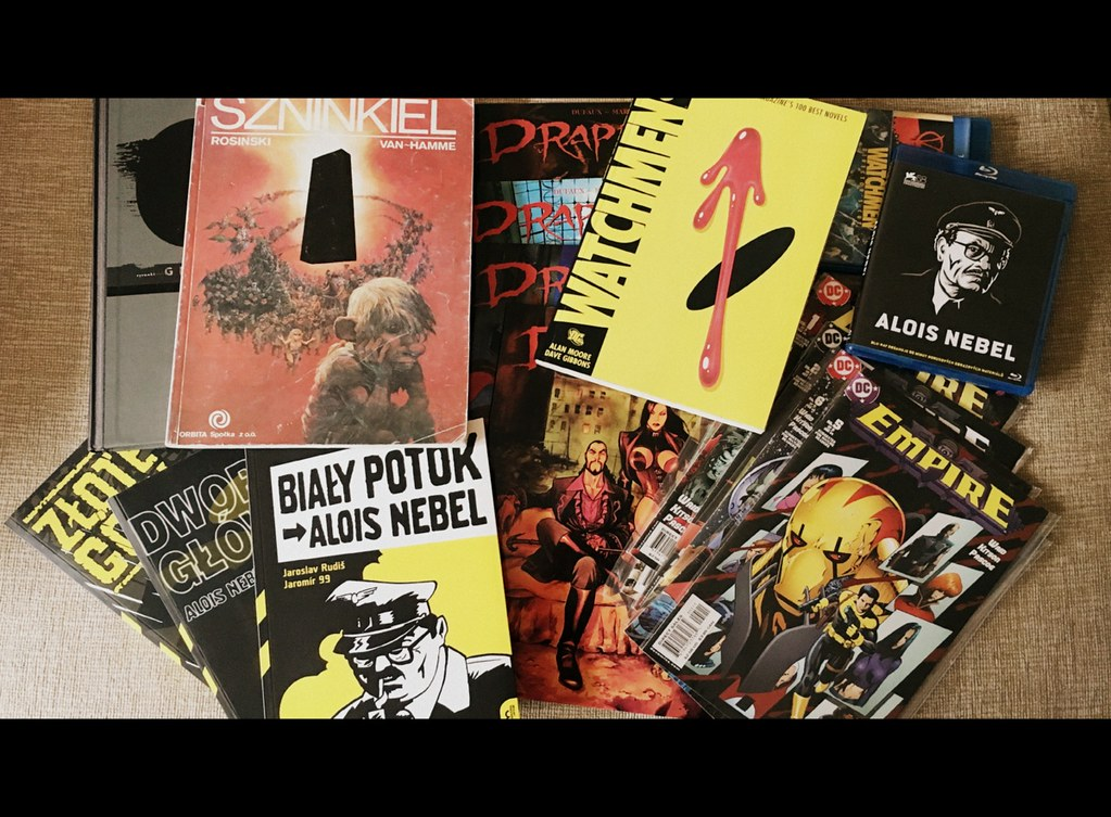 My 5 favourite comic books