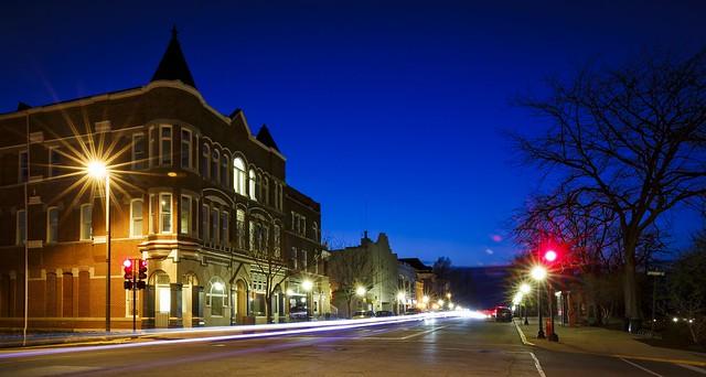 Downtown Jefferson City Blue Hour II