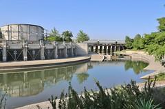 0U1A6006 San Antonio TX - Riverwalk - Flood Control Tunnel Outlet park