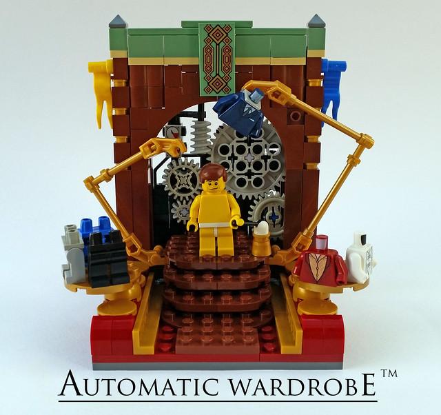 Steampunk Automatic Wardrobe