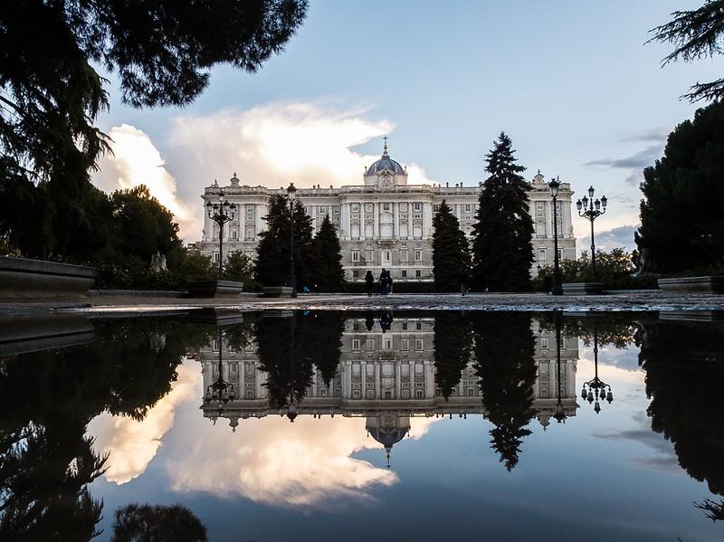 El espejo del Palacio Real