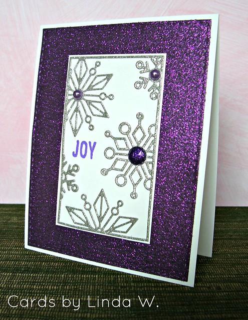 Joy Snowflake Block
