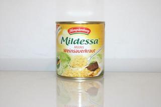 07 - Zutat Sauerkraut / Ingredient sauerkraut