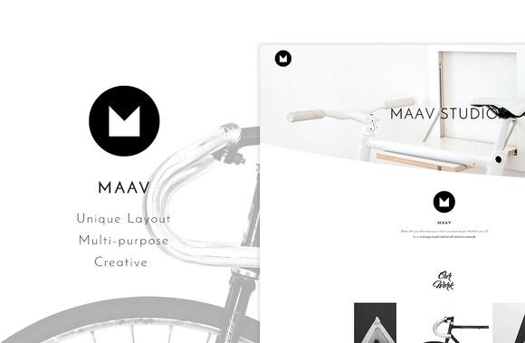 Maav v1.0 – Creative WP Theme