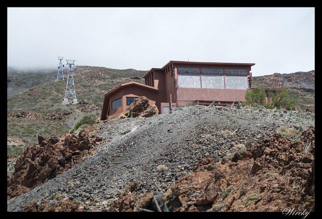 Tenerife Parque Nacional Teide Valle la Orotava - Teleférico de ascenso al Teide