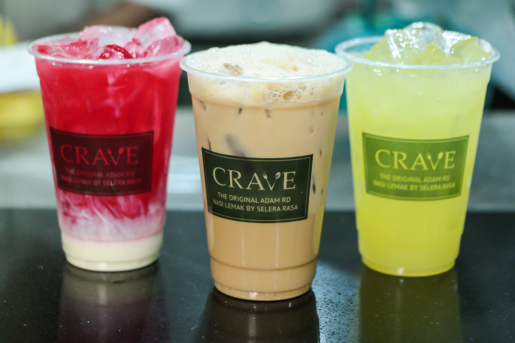 CRAVE Nasi Lemak's drinks