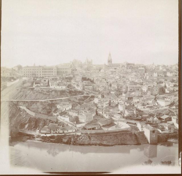 Vista general de Toledo en 1906. Anónimo francés.