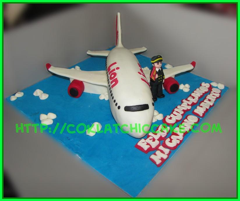 Cake Pesawat lion Airways