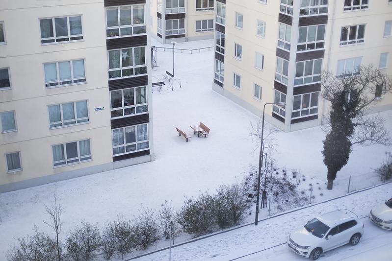 snö och några julklappar