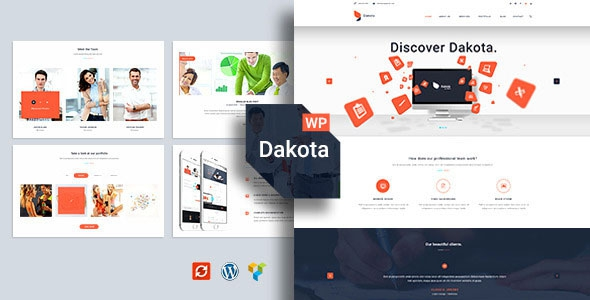 Themeforest Dakota v1.0 - Multi-Purpose Business WordPress Theme