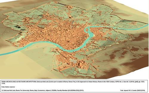 ROMA ARCHEOLOGICA & RESTAURO ARCHITETTURA: Dott.ssa Keti Lelo [Centro per lo studio di Roma, Roma Tre], A GIS Approach to Urban History: Rome in the 18th Century. ISPRS Int. J. Geo-Inf. 3 (2014), [pdf], pp. 1293-1316.