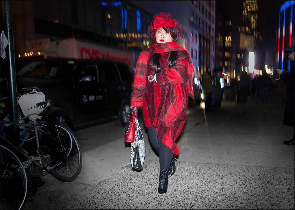 Seeing Red  NYFW 2-2016