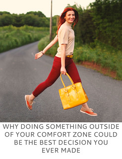 Not Dressed As Lamb | Why Doing Something Outside of Your Comfort Zone Could Be the Best Decision You Ever Made