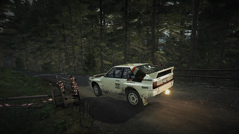 DIRT Rally Audi quattro