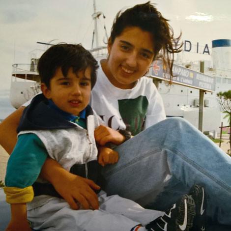 me and shiwi