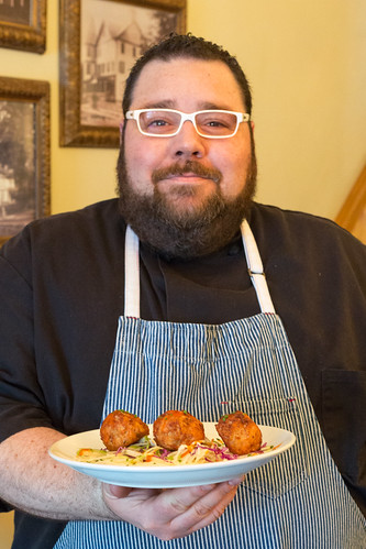 Chef Evan Blomgren of the Rocky Hill Inn