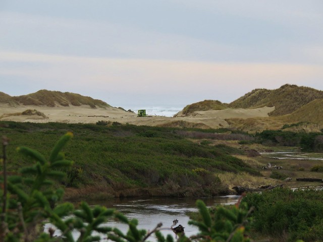 Sutton Creek and the Pacific Ocean