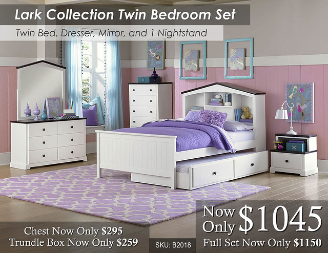 Lark Twin Bed Set