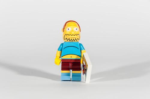 El de los comics de los Simpsons