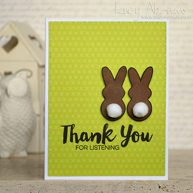 Thank You Bunnies by Lucy Abrams