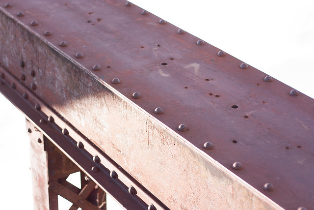 Bullet Holes in the Bridge - World War II Practice