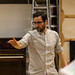 Robert Jack in rehearsals for The Crucible, Lyceum Theatre
