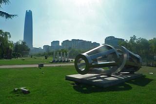 Santiago - Parque de las Osculturas Aura Castro Yantra Mandala